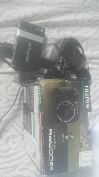 Camera Fujifilm S2800 Hd + Mini Impressora Polaroid