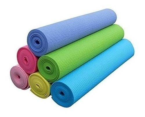 Mat Yoga Pilates 4mm Colchoneta De Goma Eva Colores / Lhua