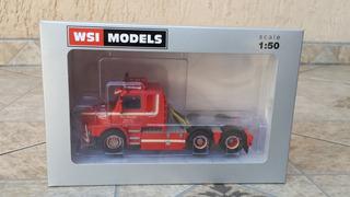 Miniatura Caminhao Scania T143 6x4 Top Wsi