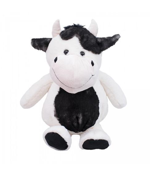 Vaca Barriga Preta 38 Cm - Pelúcia