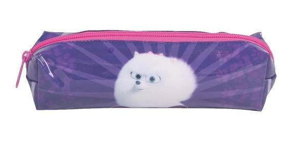 Kit Com 10 Estojos Escolar Soft Pets Pratic 30363