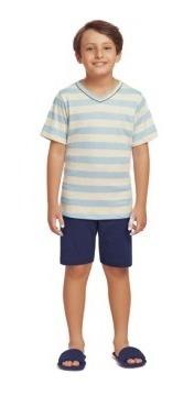 Pijama Masculino Manga Curta - Ref 0131108