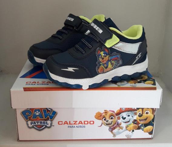 Zapatilla Footy Hi Dino Gamer Doble Velcro Con Luz Al Pisar