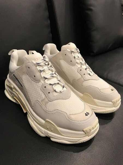 Balenciaga Triple S Runner Branco Original