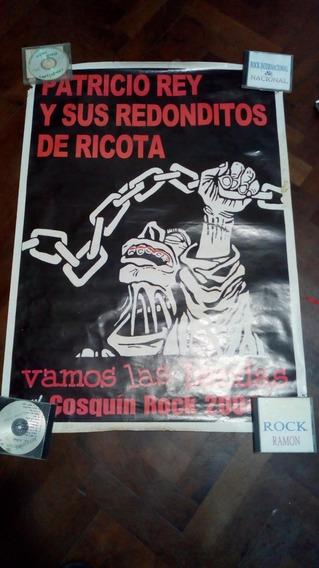 Poster Redonditos De Ricota De 1 Metro X 70 Cm