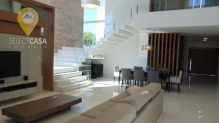 Mansão No Boulevard Lagoa Com 5 Dormitórios À Venda, 420 M² Por R$ 3.450.000 - Boulevard Lagoa - Serra/es - Ca0062