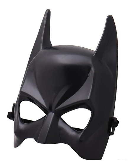 Mascara Batman Media Cara Dura Halloween Cotillon