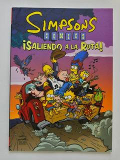 Cómic, Bongo, Simpsons ¡saliendo A La Ruta! Ovni Press