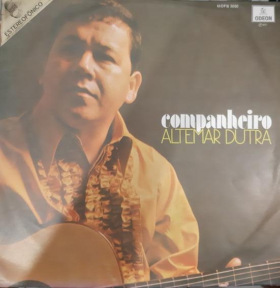 Lp - Altemar Dutra - Companheiro (stereofônico)