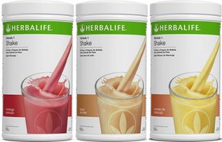 3 Shakes Herbalife - Produtos Originais E Lacrados Com Lote