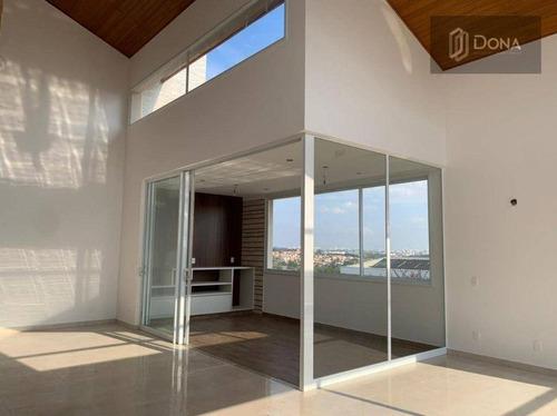 Imagem 1 de 30 de Casa Com 3 Dormitórios À Venda, 438 M² Por R$ 2.890.000,00 - Loteamento Mont Blanc Residence - Campinas/sp - Ca0400