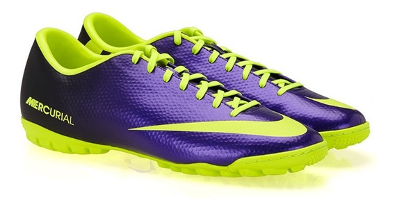 Tenis Nike Para Fútbol Mercurial Victory Adulto Morado