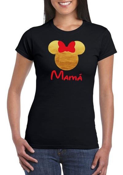 2 Playeras Mickey Mouse Personalizadas