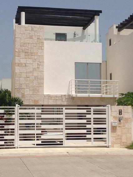 En Venta Hermosa Residencia Con Roof Garden Modelo Crozet En Playa Del Carmen