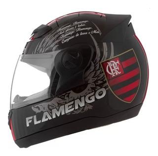 Capacete Evolution Futebol Flamengo Tam 56 58 60 - Promoção