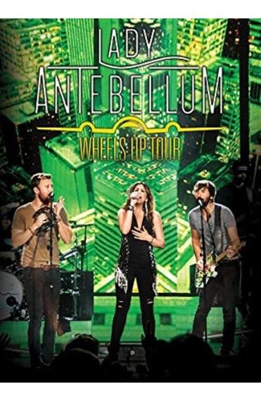 Lady Antebellum Wheels Up Tour - Dvd Pop