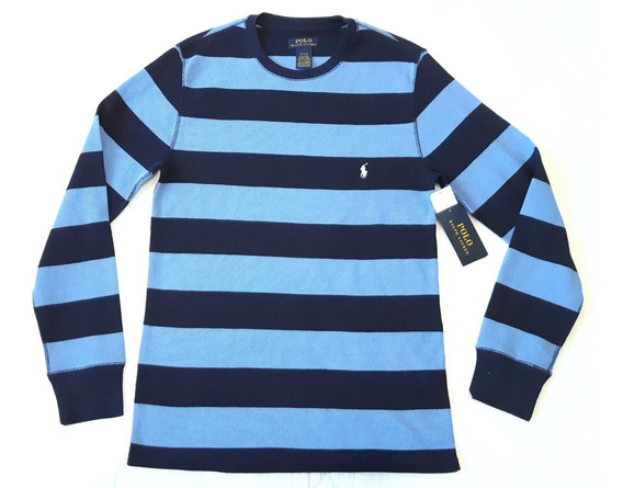 Pijama Polo Ralph Lauren Crew Rubby Stripe Original Nueva