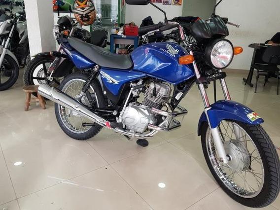 Honda Cg 150 Titan Ks 2007 Azul