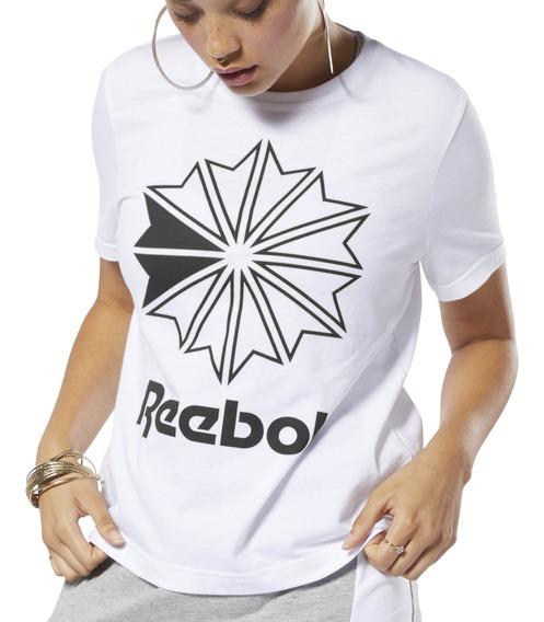 Remera Reebok Moda Classics Big Logo Graphic Mujer Bl