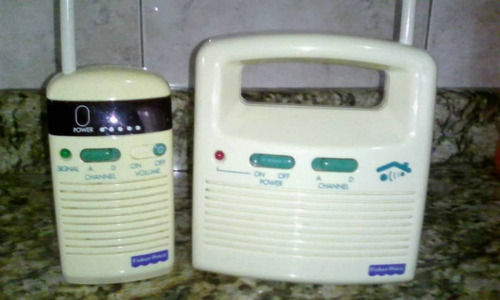 Radio Transmisor Para Bebes Marca Fisher Price