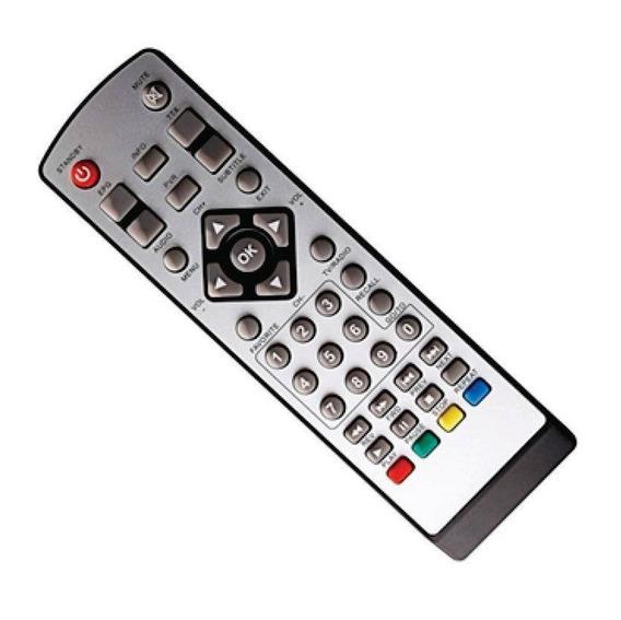 Controle Remoto Conversor Tv Digital Ecogold Eg8400hd