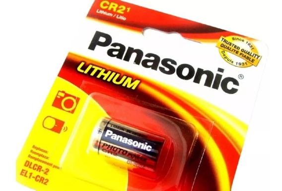 Bateria Pilha Cr2 Lithium Photo Power Panasonic 3v