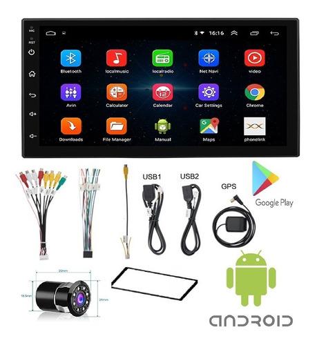 Radio Carro Bluetooth + Camara Usb Sd + Consola Aveo Emotion