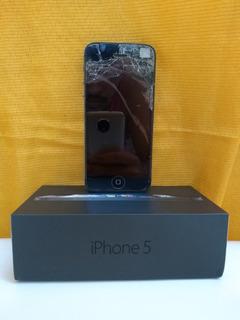 Apple iPhone 5 16gb Preto - Quebrado (retirada De Peças)