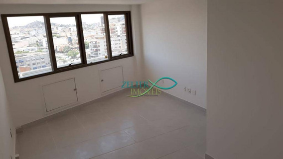 R$ 900,00 - Sala Comercial Para Alugar No Condomínio Punto Offices - Sala Pronta - Ar Condicionado - Interfone - Vaga De Garagem - Sa0095