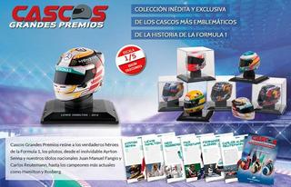 Coleccion Cascos Grandes Premios F1 A Elección Oferta