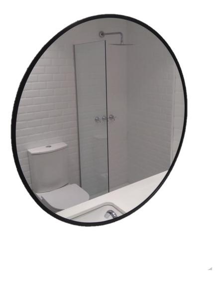 Espejo Redondo Diámetro 60cm Con Marco A Elección