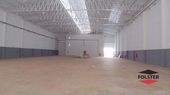 Galpão Para Venda E Locação, 1750 M² Por R$ 3.500.000 - Distrito Industrial I - Santa Bárbara D
