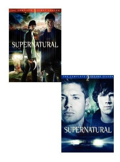 Supernatural Paquete Temporadas 1 2 3 4 Dvd