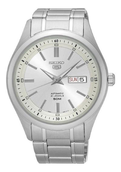 Relógio Seiko 5 Masculino Automático 21 Jewels Snkn85b1 S1sx