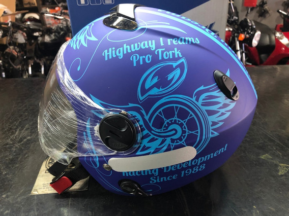 Capacete New Atomic Highway Dreams Pro Tork