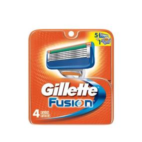 Carga Gillette Fusion Com 4 Unidades