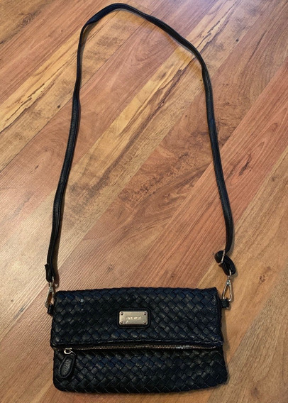 Hermosa Bolsa Nine West Crossbody Trenzada Fina Original!!