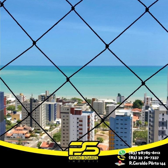 Flat Com 1 Dormitório À Venda, 39 M² Por R$ 240.000 - Manaíra - João Pessoa/pb - Fl0075