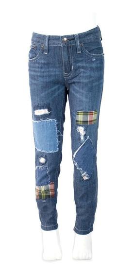 Jeans Innermotion Para Niñas Boyfriend Fit. Estilo 7159