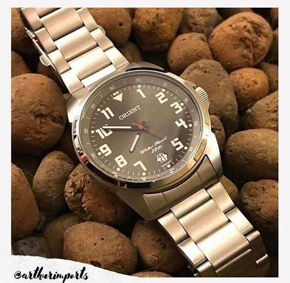Relógio Orient Analógico Mbss1154-p2sx Masculino - Prata