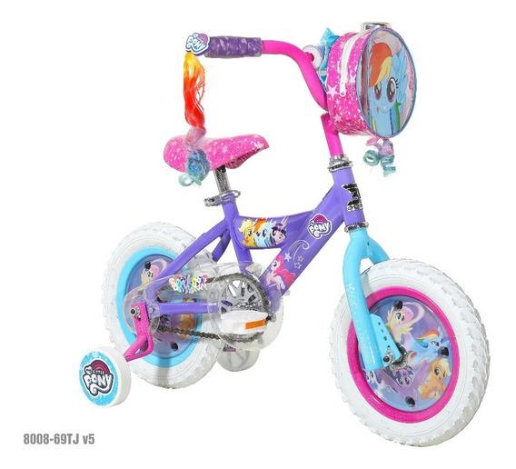 Bicicleta My Little Pony Marca Dynacraft Rin 12 Con Accesori