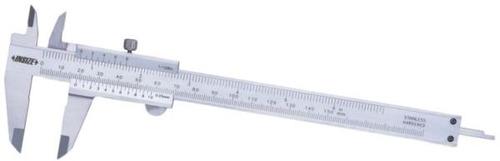 Imagen 1 de 7 de Calibre Mecanico Insize 1205-2002s  200mm Lec.0.02 Solfer