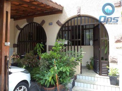 Casa Com 3 Dorms, Boqueirão, Santos, Cod: 4782 - A4782