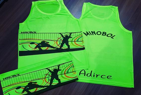Camiseta Dry Fit Personalizada Minobol
