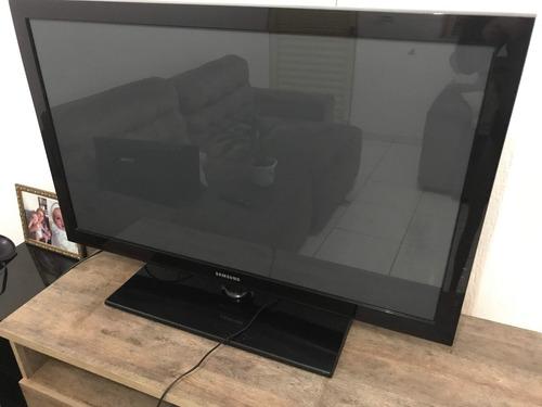 Tv Samsung 42  Plasma Pl42c450b1 - Peças Ok - Tela Quebrada