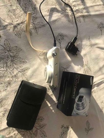 Câmera Fotográfica Samsung Galaxy 2 Gc 200 Branca