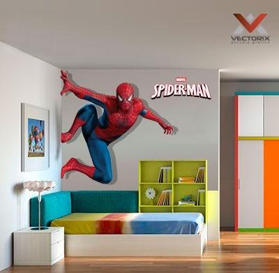 Vinilos Decorativos Avengers Spiderman 100 X 150 Cm