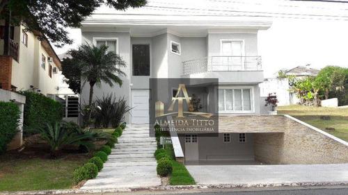 Imagem 1 de 30 de Excelente Casa À Venda No Residencial 11, Santana De Parnaíba. Mobiliado, 5 Dorms, 6 Vagas, Gourmet E Lazer! - Ca2646
