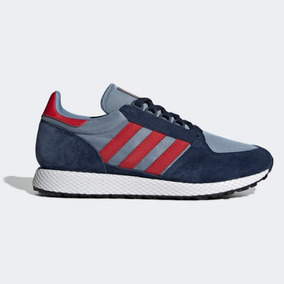 adidas Forest Grove 41 (navy/red)