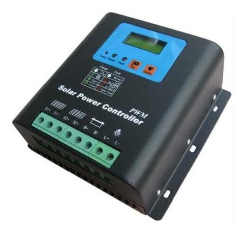 Regulador Controlador Solar Pwm 80 Amp Digital Usb 48 Vdc